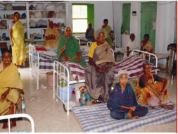 Help us to provide a peaceful environment for old, neglected people