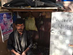Help Nagababu reclaim his equipment to run his cycle shop better.