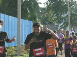 I am running my first marathon to help Kaikondrahalli lake