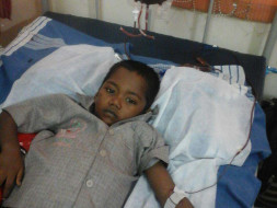 Help 6-year-old Jithesh fight thalassemia !