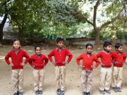 Help Buy Running Shoes for Children at Diksha