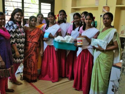 Help poor girls to get their menstrual practices hygienic..