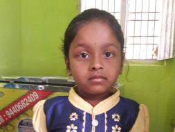 Please Support Srujana's Living and Bright Future