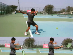 Help Nishad play the International Tennis Tournament in Lebanon