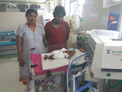 Help baby of Madhavi get treatment for short bowel syndrome