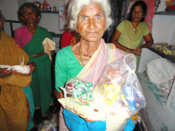 Donate Online for Monthly Groceries to Poor Old Age People
