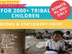 Give the needy children a reason to celebrate...children's day!
