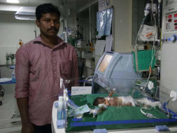 Help Baby of Mariamma: a premature baby born too soon
