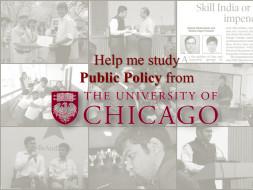 Help Kushal Study Public Policy From UChicago