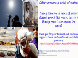 Let's pledge to Help the Helpless this summer.