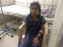 Help Hushitha undergo chemotherapy for blood disorder