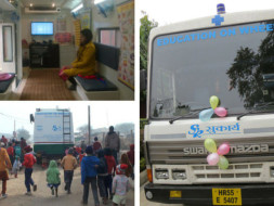 Education On Wheels For Slum Children