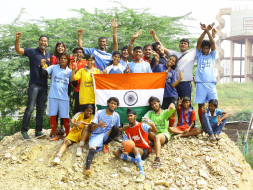 Make Dreams Come True for kids representing India at HomelessWorldCup