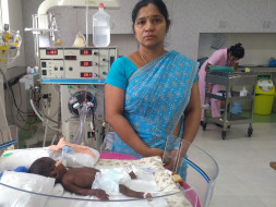 Help Baby of Vinodha Get Treatment For Pneumonia And Prematurity