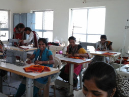 skill training to tribal women