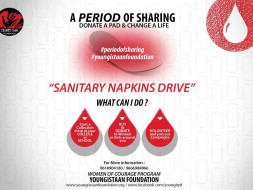 Donate Sanitary Napkins To Underprivileged Girls #PeriodsNotaShame