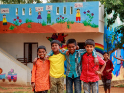 With your support, these kids of Kaliyuva Mane can get a dormitory.