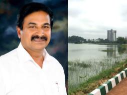 Help this Bengalurean setup toilet & borewell at Kasavanahalli lake
