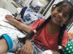 Help 8-Year-Old Vedita Undergo Kidney Transplantation