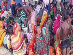 Flood Disaster Relief In Bihar