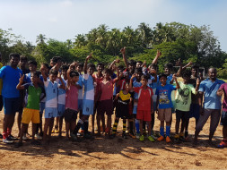 Support and share for the dream of govt school kids in Pugalur village