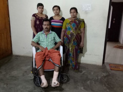 HELP MR PUSHKARAN AND FAMILY