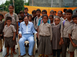 Help this 70-year-old engineer build a roof for 600 children