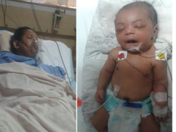 Help Shumi & Her Infant Survive A Complicate Childbirth