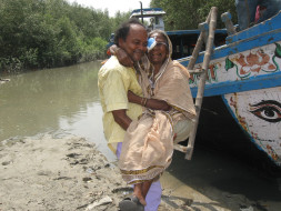 Eye Operation  for Curable  Blind People in very inaccessib  Sundarban