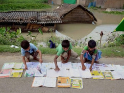 Help the students from flood affected areas of Assam