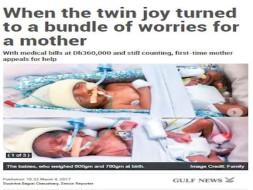 PREMATURE TWIN BABIES NEED HELP