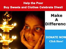 Help the underprivileged to Celebrate Diwali