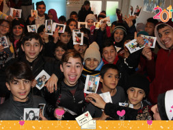 Help Letters of Love send refugee children New Year Postcards