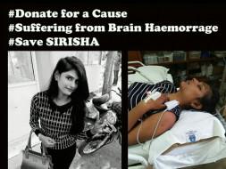 Help Sirisha Rao Recover From A Brain Hemorrhage