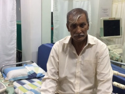 62-year-old Vilas has severe heart blockage and urgently needs surgery