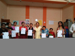 Computer education for disabled students for poor background students