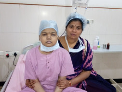 15-year-old Jeevana with cancer urgently needs treatment