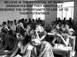 Help India's rural graduates achieve their dreams
