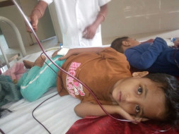 Help 3-year-old Ayaan battle a severe blood disease