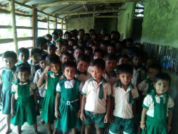 Help To Build The Flood Affected School In Sunderban