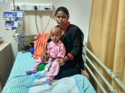 Help 1-year-old Ansh battle eye cancer