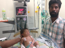 Newborn Baby May Lose His life If He Does Not Undergo Heart Surgery