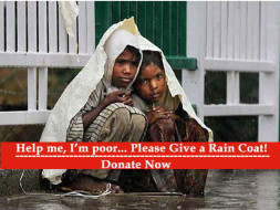 Give a Rain Coat to underprivileged Children