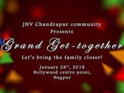 The Grand Get Together For JNV Chandrapur