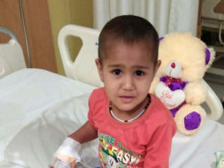 3-year-old Arohi Has Only One Kidney And It Has A Tumor On It