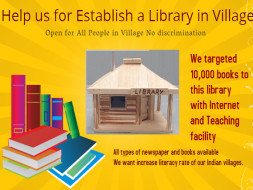 Help Us Establish A Library In A Village