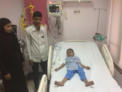 Help 4-year-old Anash fight a severe heart disease