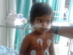 Help 2-year-old Nithya Who Is Suffocating Everyday Because Of Cancer
