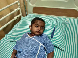 Help 3-year-old Samarth fight a cancerous brain tumor