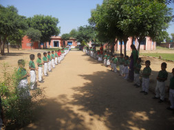 Provide Library & Computers for Village School, Churu, Rajasthan